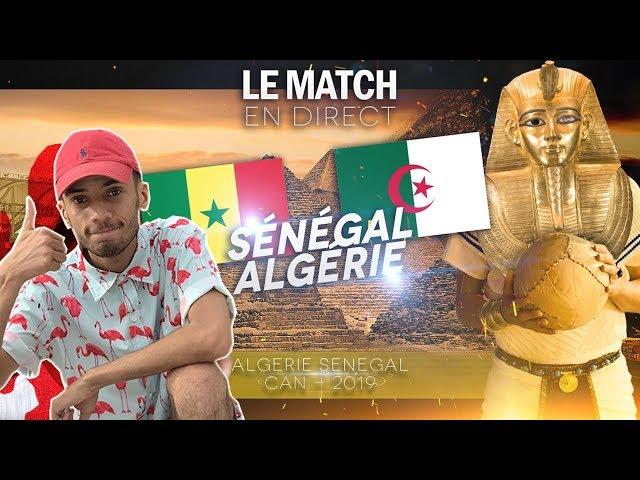 MOURAD OUDIA - VLOG EGYPTE ( algerie vs senegal )