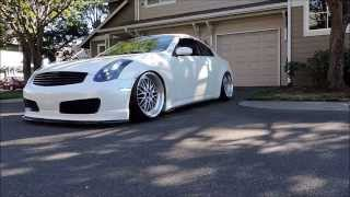 David's Slammed and Stanced G35 Coupe