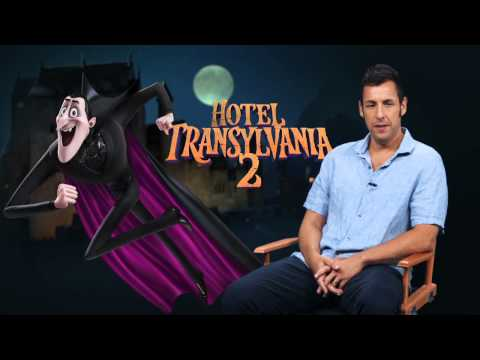 "Hotel Transylvania 2: Adam Sandler ""Dracula"" Behind the Scenes Movie Interview"