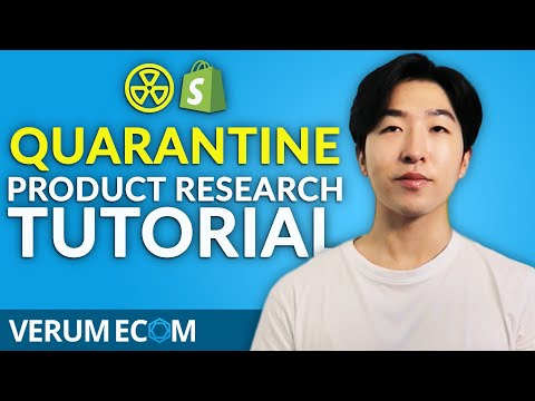 [How To] Find Winning Products During Quarantine - Dropshipping 2020