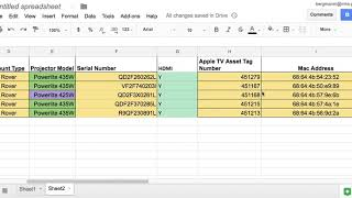 Google Sheets Brief Tutorial