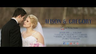 Alison and Gregory – Wedding Highlight at Rock Island Lake Club in Sparta, NJ