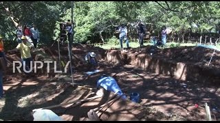 El Salvador  Bodies exhumed in reopened El Mozote massacre investigation