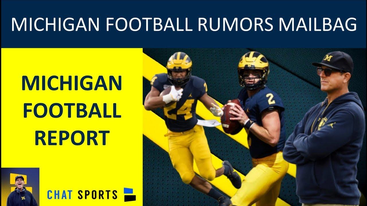 buy online 7b196 f7d81 Michigan Football Rumors: Jim Harbaugh Hot Seat, Zach Charbonnet Injury &  Shea Patterson | Mailbag