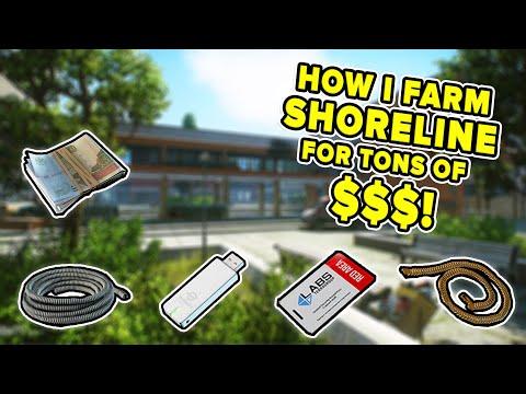 HOW I FARM SHORELINE TO MAKE MONEY! BEST KEYS & LOOT SPAWNS | Escape from Tarkov | TweaK