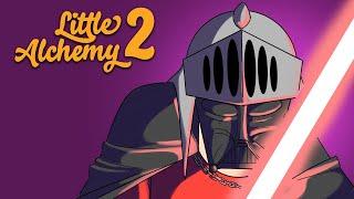 CRIANDO Dragão, Morte, Vampiro e Darth Vader em Little Alchemy 2