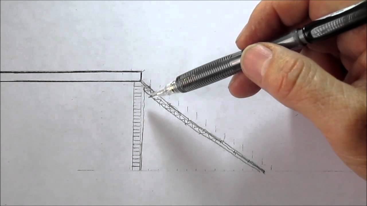 Construcci n de escalera en concreto youtube for Como hacer una escalera de concreto con descanso