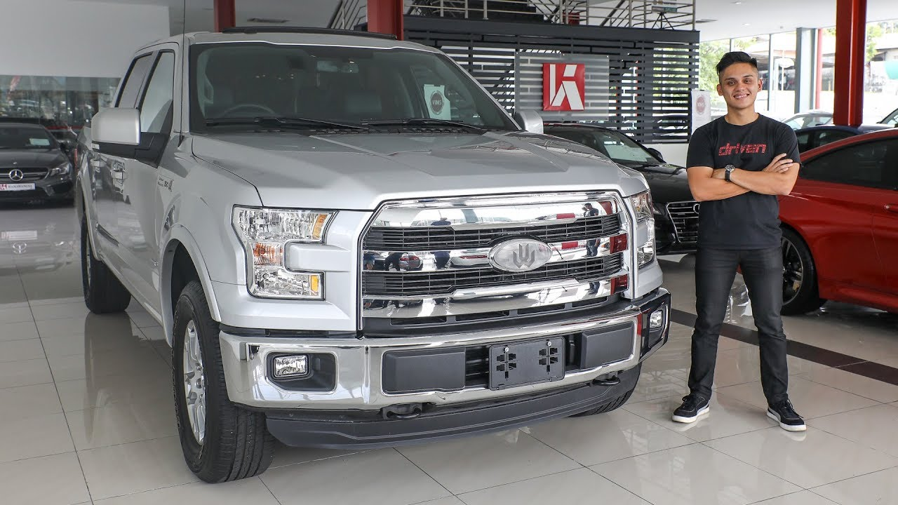First Look Ford F 150 Malaysian Walk Around Tour Rm389k