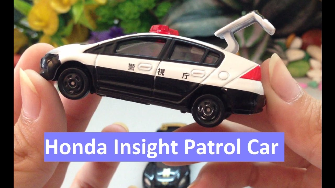 Honda Insight Patrol Car Video For Kids Sports Car Toys For