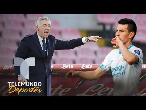 La revelación de Ancelotti sobre Hirving Lozano, muere por el Chucky | Telemundo Deportes