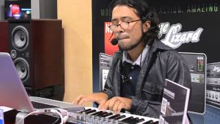 NAMM 2013: Thiago Pinheiro demos the Lounge Lizard EP-4 electric piano