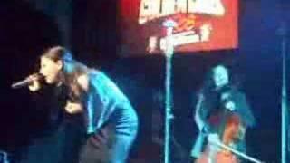 Apocalyptica Featuring Cristina Scabbia S.O.S. LIVE METAL