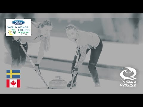 Sweden v Canada - Round-robin - Ford World Women's Curling Championships 2018