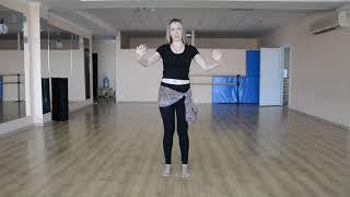 Восточные танцы для начинающих - Урок 1 (волны руками, движения кистями)
