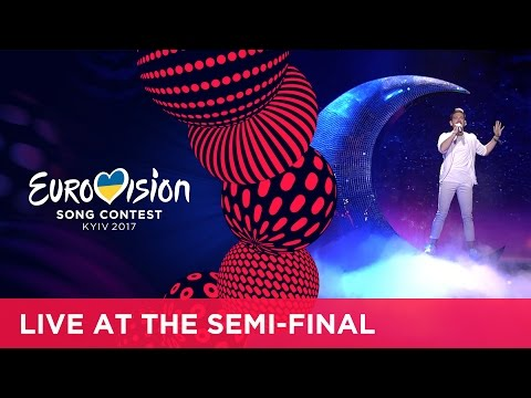 Nathan Trent - Running On Air (Austria) LIVE at the second Semi-Final