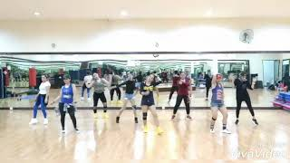 Disana Menanti Disini Menunggu (kumerasa resah)by via Vallen /choreo by Rina
