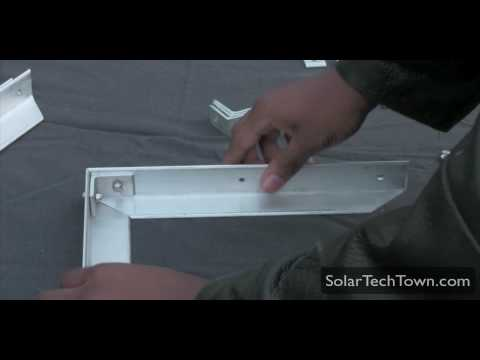 How To Build An Aluminum Frame Solar Panel - Part 2/3