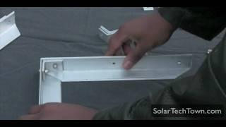 How To Build An Aluminum Frame Solar Panel - Part 2/3