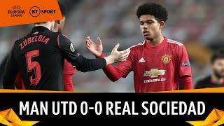 Manchester United vs Real Sociedad (0-0) | Shoretire makes European cameo | Europa League Highlights