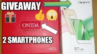 2 SMARTPHONES HUGE GIVEAWAY!! [Car Guru]  OPPO , ONIDA 