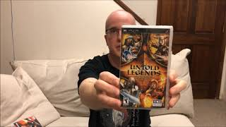 Untold Legends: Brotherhood of the Blade (PSP) Unboxing