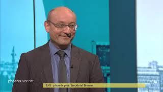 Prof.  Emanuel Richter mit einer Einschätzung zur Fraktionsklausur von SPD und CDU/CSU am 14.06.2019