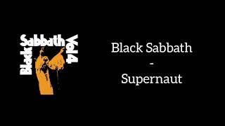 Black Sabbath - Supernaut (Lyrics)