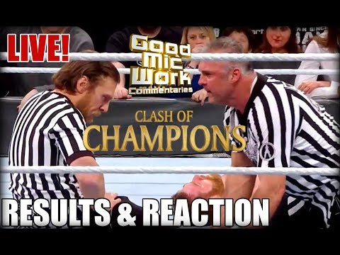WWE Clash Of Champions 2017 Full Show LIVE Review | AJ Styles vs Jinder Mahal