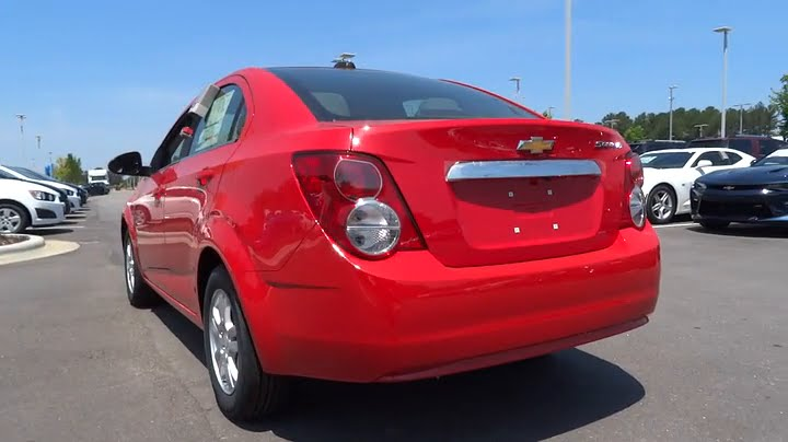 Hendrick Chevrolet Cary Nc >> 2016 Chevrolet Sonic Durham, Chapel Hill, Raleigh, Cary ...
