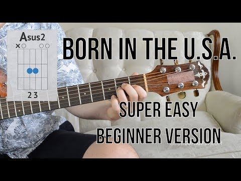 7.8 MB) Born In The Usa Chords - Free Download MP3