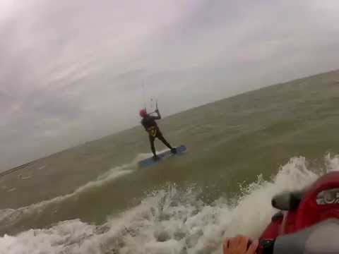 Eric Newman Lesson w/ Houston Kiteboarding