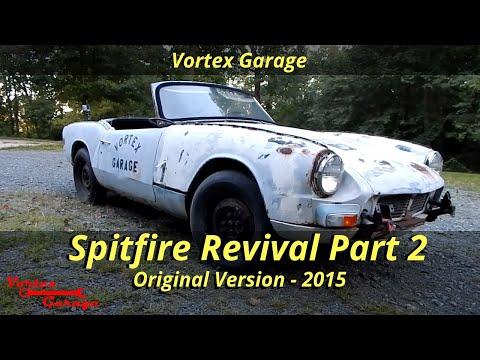 Junkyard Revival Part 2 - Triumph Spitfire Parts Car Running and Driving! - Vortex Garage Ep. 10