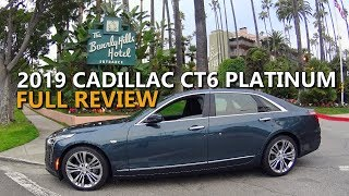 2019 CADILLAC CT6 PLATINUM AWD - Full Review and Road Trip