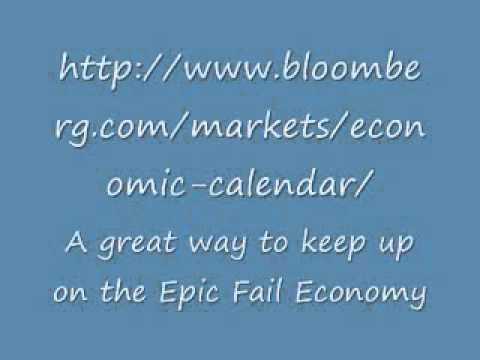 Bloomberg Economic Calendar Youtube