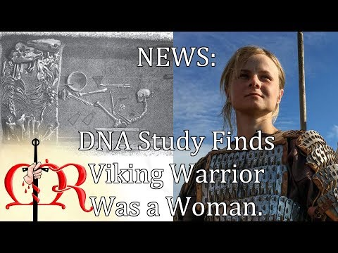 Medieval Review News - Viking Warrior Woman Confirmed Through DNA