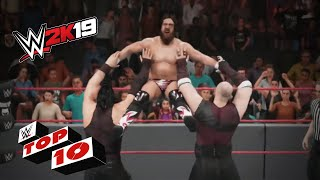 Tremendous Tag Team Finishing Maneuvers: WWE 2K19 Top 10