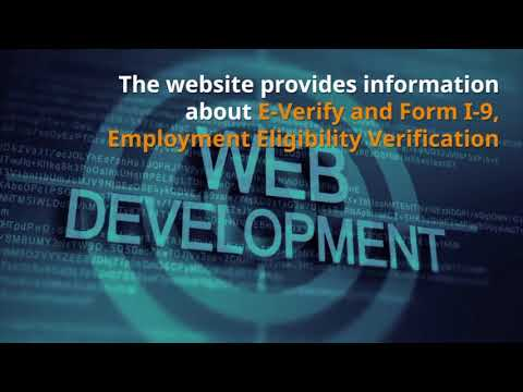 U.S. Alert -  USCIS Launches E-Verify Website - Fakhoury Global Immigration
