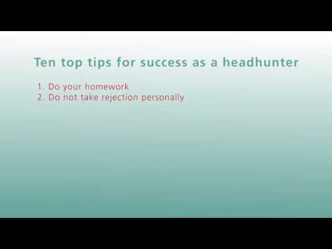 10 Headhunting Success Tips - Ku.dos Session 5 Preview