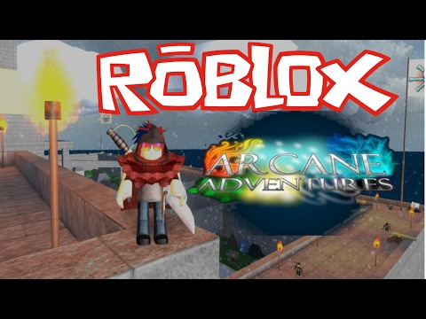 Looking for Legendary Weapon! | Arcane Adventures Roblox Part 1