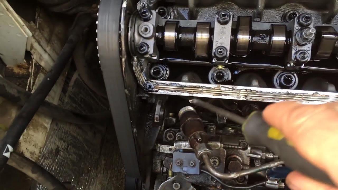 Выставить зажигание на фольксваген транспортер т4 дизель 2 4 валик для рольганг