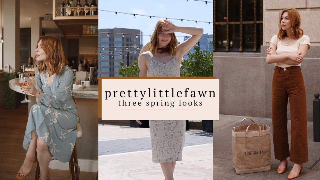 80b19d965b0b PrettyLittleFawn    3 Spring Looks - YouTube