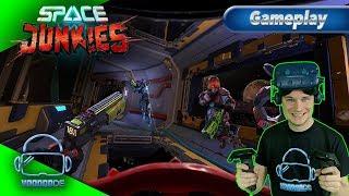 Space Junkies Pre-Release - VoodooDE gegen Ubisoft [Gameplay][German][Vive/Rift][Virtual Reality]
