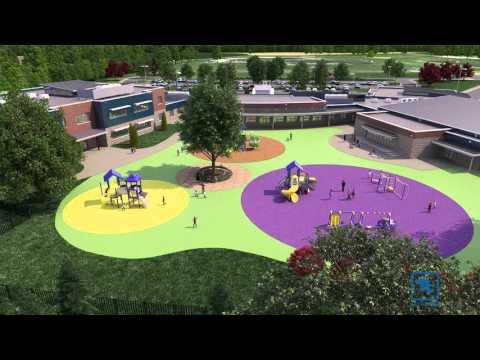 Tetra Tech Designs School with a Modern, Flexible Learning Environment