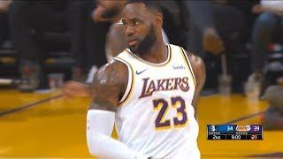 Los Angeles Lakers vs Dallas Mavericks 1st Half Highlights   December 1, 2019-20 NBA Season