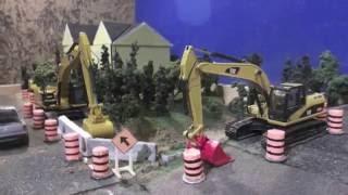 Large Culvert Replacement Diorama 1:50