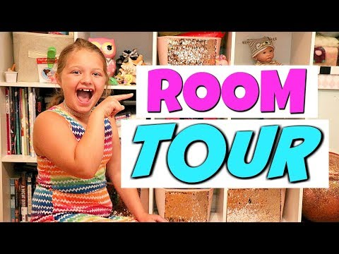 Aubrey's ROOM Tour + Opening LOL Surprise Dolls