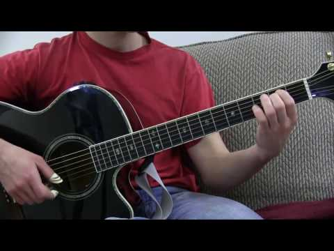 More Than Words Guitar Lesson - Pluck and Chuck Guitar Series Song #1 - Intro to the Empty Chuck