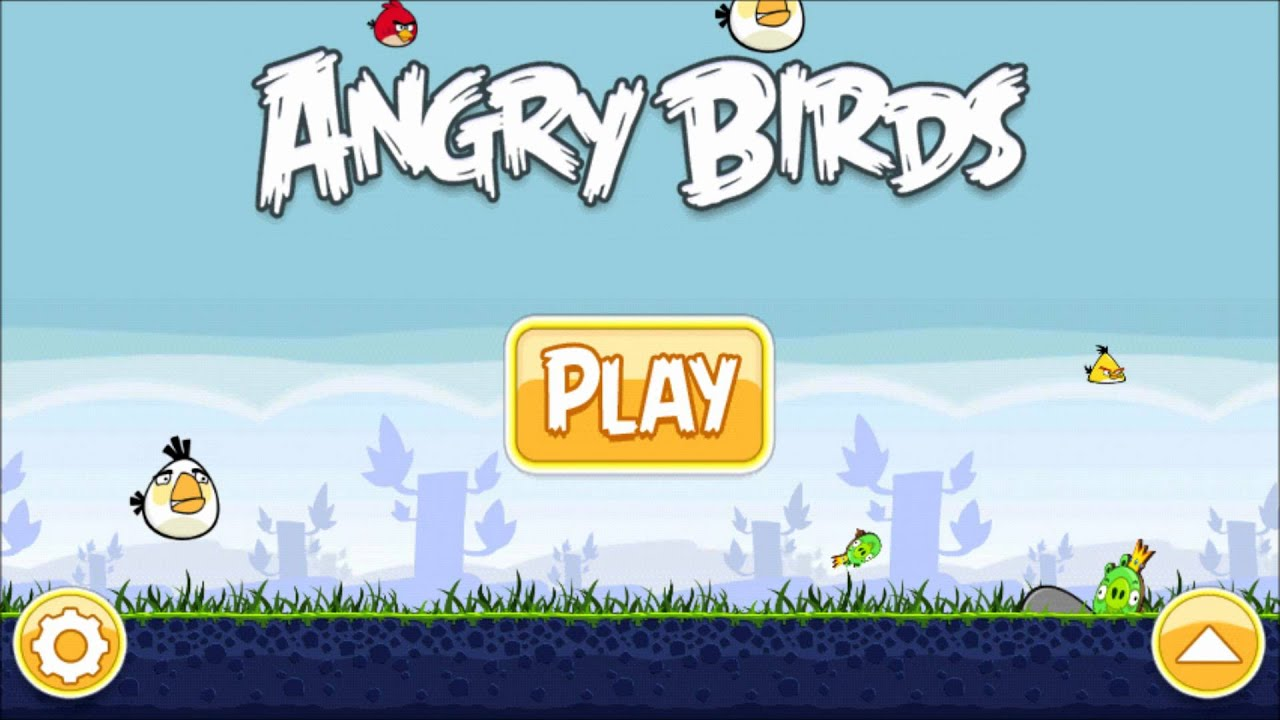 Original main theme angry birds music youtube voltagebd Gallery