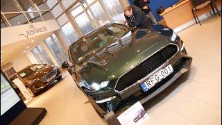 FORD MUSTANG BULLITT: 3000. új autó átadás a Ford Solymár csoportnál