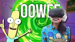 OOOWEEE - Rick and Morty VR : Virtual Rick-ality